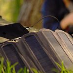 Solarcru charge your devices anywhere with solar power