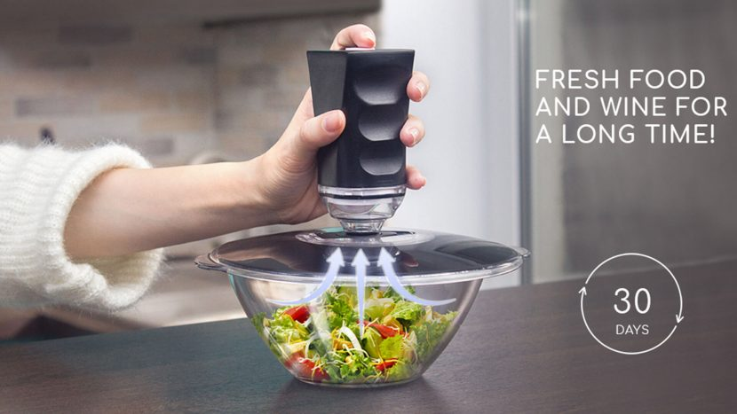 Equilibric Vacuum Lids Kickstarter