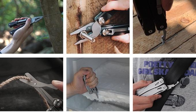 Talos Multi-tool uses
