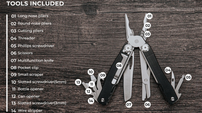Talos Multi-tool Tools